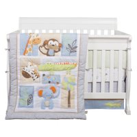 Trend Lab 6-Piece Crib Bedding Set, Jungle Fun