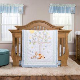 Trend Lab 6-Piece Crib Bedding Set, Forest Tales