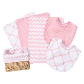 Trend Lab 7-Pc. Feeding Basket Gift Set (Choose your Color)