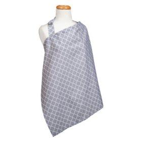 Trend Lab Nursing Cover, Gray Diamond