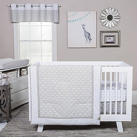 Trend Lab 3-Piece Crib Bedding Set, Art Deco