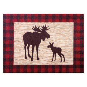 Trend Lab Canvas Wall Art, Northwoods Moose