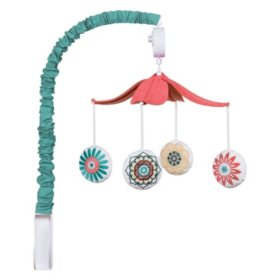 Waverly Baby by Trend Lab Musical Mobile, Pom Pom Play