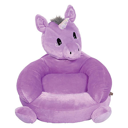 Trend Lab Children's Plush Character Chair, Unicorn