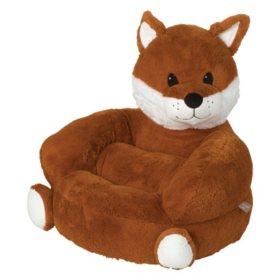 Trend Lab Children's Plush Character Chair, Fox