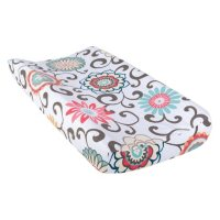 Waverly Baby by Trend Lab Changing Pad Cover, Pom Pom Play
