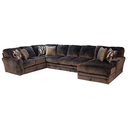 Quest Rushmore Sectional Sofa Set