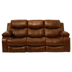 Colton Leather Reclining Sofa