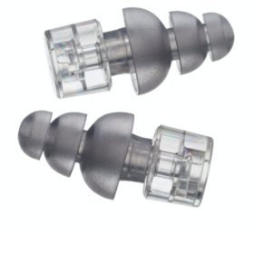 ER20XS Earplugs, Standard Clear Stem with Frost Tips