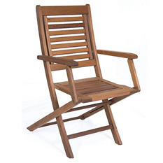 Alameda Eucalyptus Patio Armchair Set (2 pcs.)