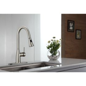 Kraus Pull Down Kitchen Faucet with Soap Dispenser - Sam\'s Club