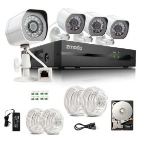 Zmodo 4 Channel Complete sPoE NVR Surveillance System w/ 1TB HDD