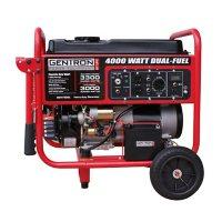 Gentron 4,000-Watt Dual Fuel Portable Generator with Electric Start