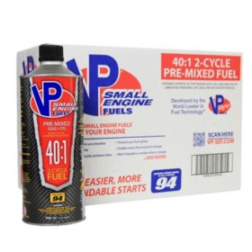 VP Small Engine Fuels 40:1 Premixed Fuel (8-pack/32oz bottles)