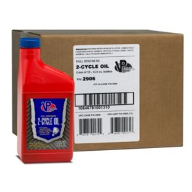 VP Small Engine Fuels Synthetic 2-Cycle Oil (12-pack/12.8oz bottles)