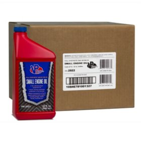 VP Small Engine Oil Full Synthetic SAE 30/10W30 Engine Oil (12-pack/32oz bottles)