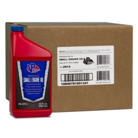 VP Small Engine Oil 4-Cycle SAE 30W Engine Oil (12-pack/32oz bottles)