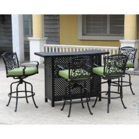 Renaissance Outdoor Bar Set  Pc Sams Club