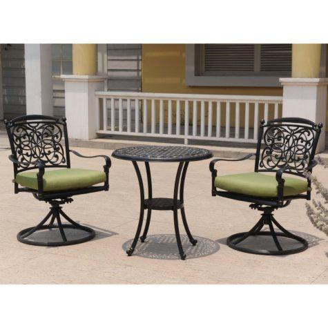 Renaissance Outdoor Patio Bistro Set - 3 pc.