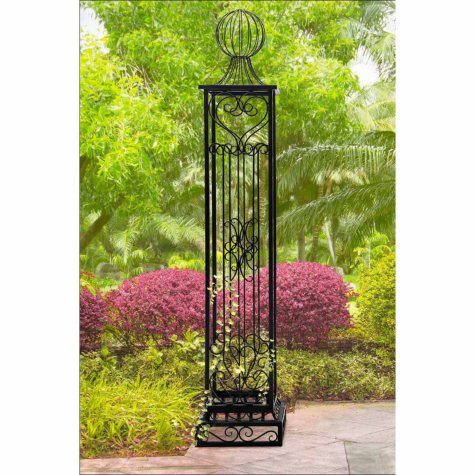 Sunjoy Steel Arbor Post