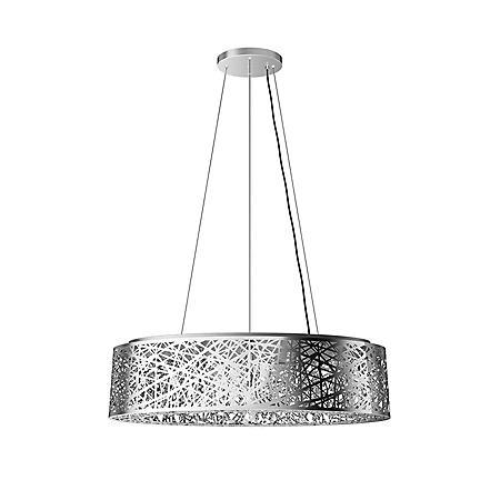 7cec8995c Artika Crystal Ellipse Semi-Flush Pendant Light Fixture - Sam's Club