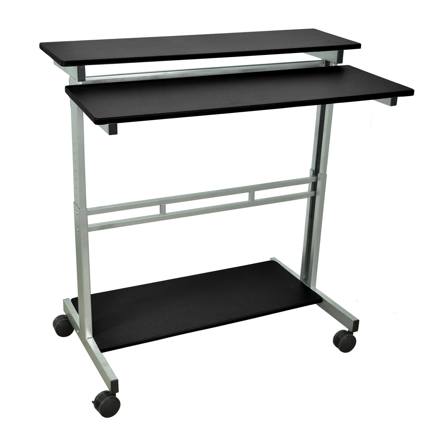 "Luxor 40"" Black Stand-Up Desk"