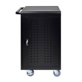 Luxor Black 30 Computer Tablet Charging Cart