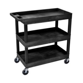 "32"" x 18"" Tub Cart - Three Shelves"