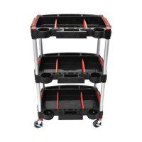Luxor Mechanic's Three-Shelf Cart