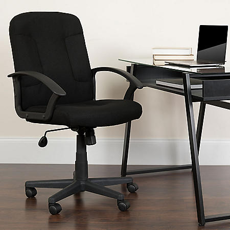 Flash Furniture Mid-Back Task Chair with Arms (Various Colors)