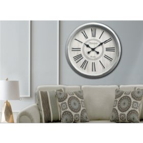 """Oversized 30"""" Wall Clock (Assorted Colors)"""