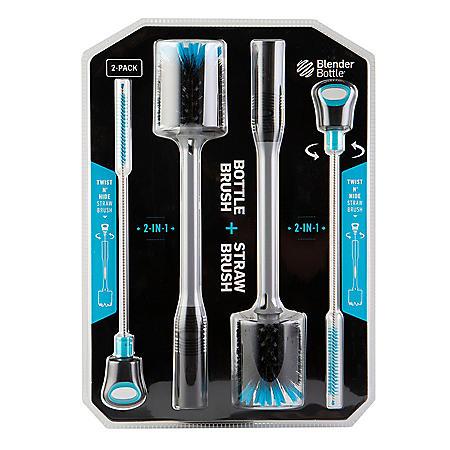 BlenderBottle Bottle Brush Combo, 2-Pack