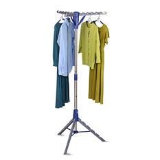 Honey-Can-Do Air Drying Rack Folding Tripod (Blue/Gray)