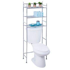 Honey-Can-Do 3-Tier Space Saver Shelf, Chrome