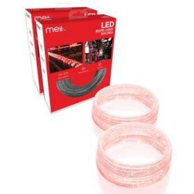 quality design e57a4 b8b65 Meilo 16ft LED Rope Light (Assorted Colors) - Set of 2 ...