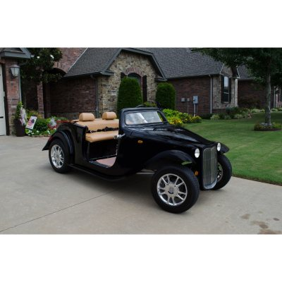 Electric California Roadster Golf Cart (Assorted Colors)