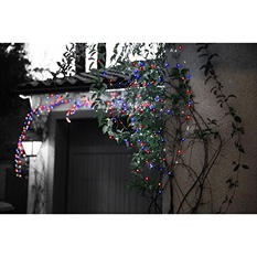 Meilo 40ft Patriotic LED Plug-In Micro String Light - Set of 2