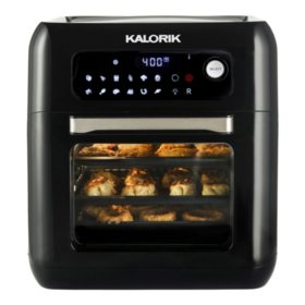 Kalorik 10 Quart Air Fryer Oven, Black