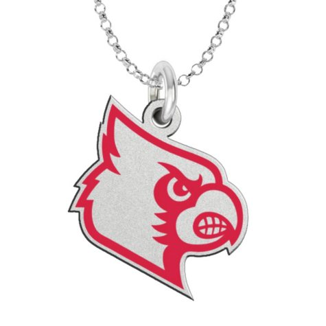 Fiora Louisville Sterling Silver Logo Necklace (Assorted Styles)