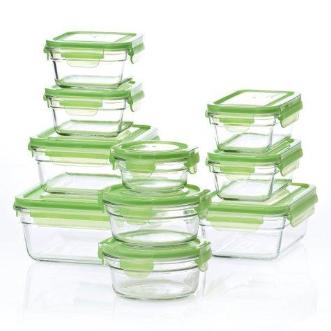 Glasslock® Food Storage System - 20 Piece Set