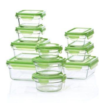 Glasslock 20-Piece Food Storage Set