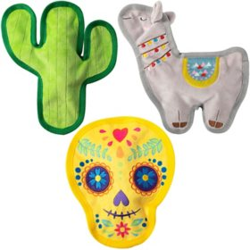 Petshop by Fringe Studio Dog Toy Set - 3 pk. (Choose from Fiesta Friends or Hey Hot Stuff)