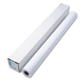 """HP Designjet Large Format Instant Dry Photo Paper, Semi-Gloss, 42"""" x 100 ft, White"""