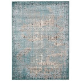 Nourison Lakewood Rug, Blue (Assorted Sizes)