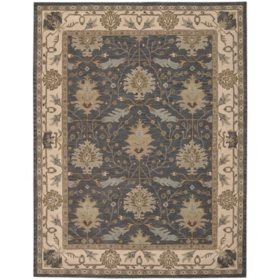 Nourison Worcester Wool Rug, Blue (Assorted Sizes)
