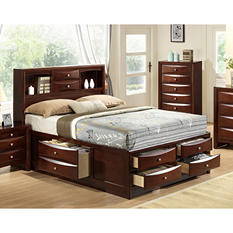 Madison Platform Storage Bed (Assorted Sizes)