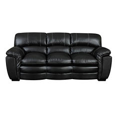 Carter Leather Sofa (Assorted Colors)