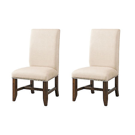 Francis Upholstered Chairs, Set of 2