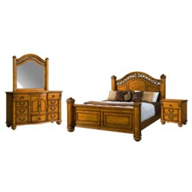 Barrow Bedroom Furniture Set (Assorted Sizes)