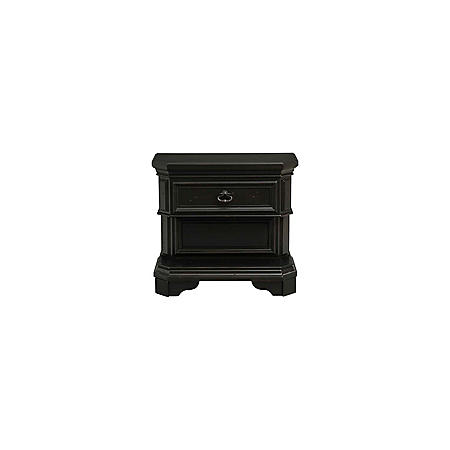 Bradshaw 1-Drawer Nightstand with USB